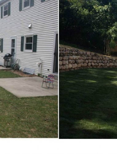 Deck Project: Before and After