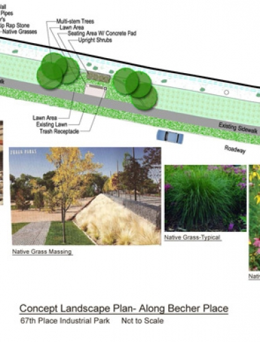 Landscape Concept Becker Place