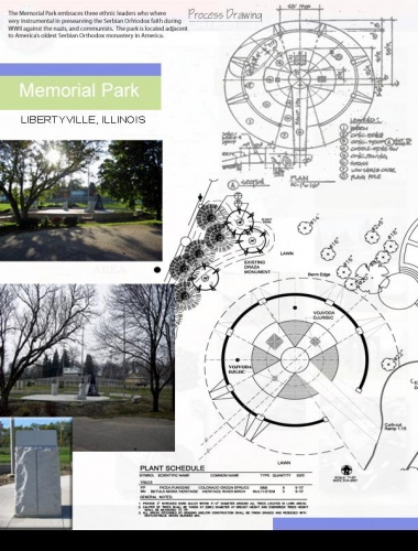 Memorial Park process drawing