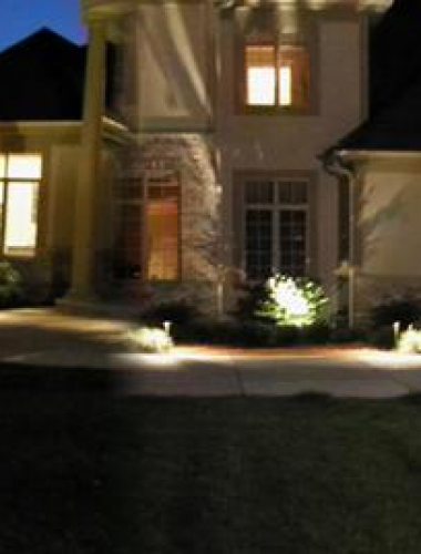 Residential Project (at night)