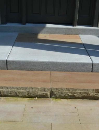 Marble Slab Steps